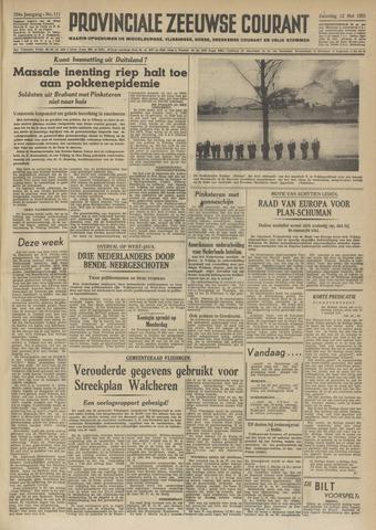 Provinciale Zeeuwse Courant 1951-05-12