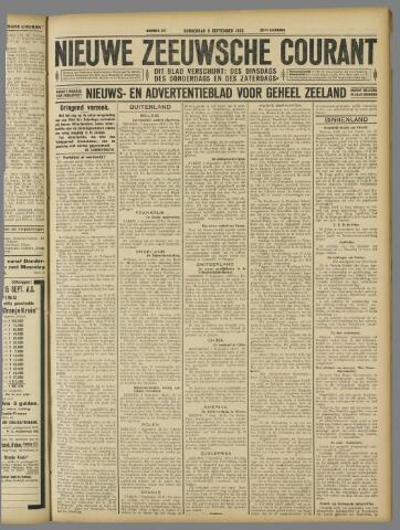 Nieuwe Zeeuwsche Courant 1926-09-09