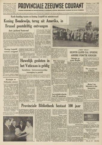 Provinciale Zeeuwse Courant 1959-06-02