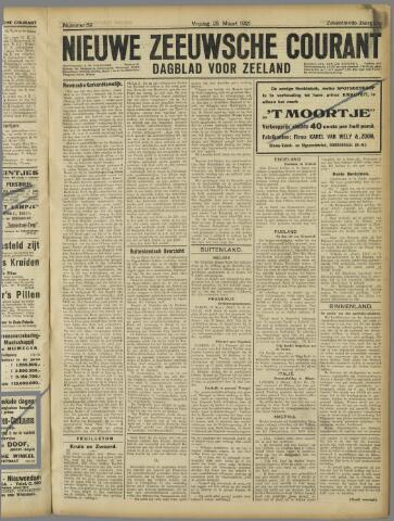 Nieuwe Zeeuwsche Courant 1921-03-25