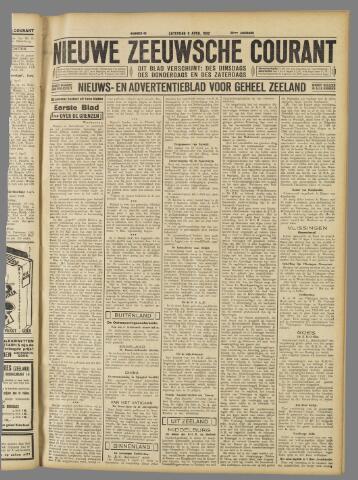 Nieuwe Zeeuwsche Courant 1932-04-09