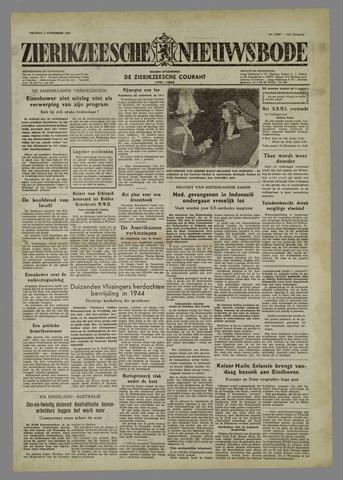 Zierikzeesche Nieuwsbode 1954-11-05