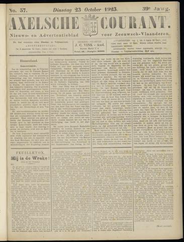 Axelsche Courant 1923-10-23
