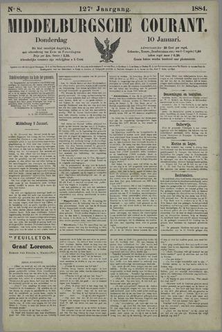Middelburgsche Courant 1884-01-10