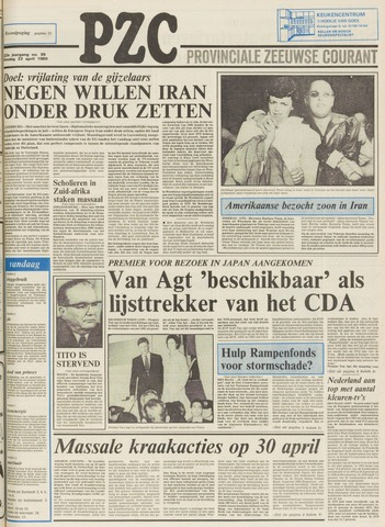Provinciale Zeeuwse Courant 1980-04-22