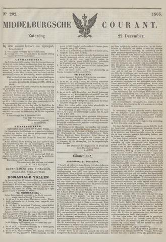 Middelburgsche Courant 1866-12-22