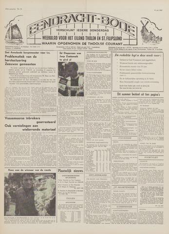 Eendrachtbode (1945-heden)/Mededeelingenblad voor het eiland Tholen (1944/45) 1969-07-31
