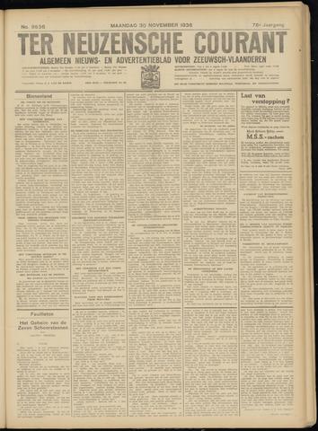 Ter Neuzensche Courant. Algemeen Nieuws- en Advertentieblad voor Zeeuwsch-Vlaanderen / Neuzensche Courant ... (idem) / (Algemeen) nieuws en advertentieblad voor Zeeuwsch-Vlaanderen 1936-11-30