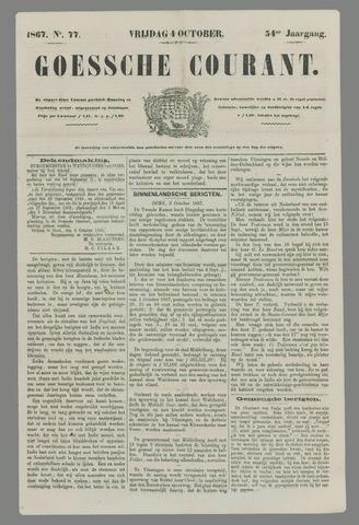 Goessche Courant 1867-10-04