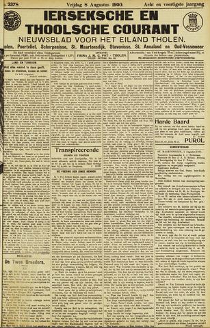 Ierseksche en Thoolsche Courant 1930-08-08