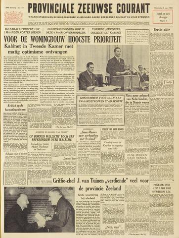 Provinciale Zeeuwse Courant 1963-08-01