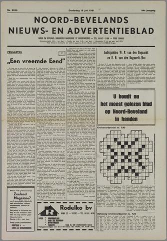 Noord-Bevelands Nieuws- en advertentieblad 1981-06-18