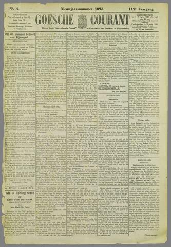Goessche Courant 1925