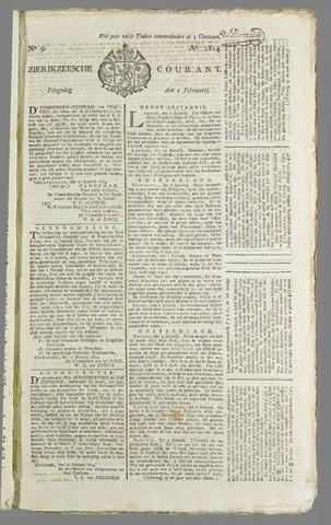 Zierikzeesche Courant 1814-02-01