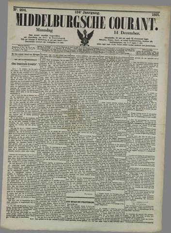 Middelburgsche Courant 1891-12-14