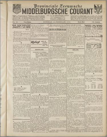 Middelburgsche Courant 1932-02-23