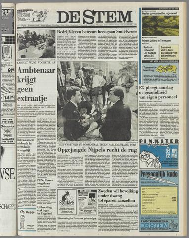 de Stem 1989-05-11