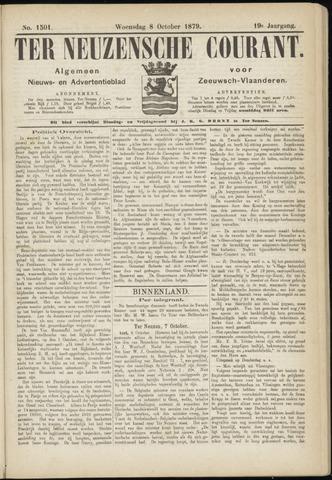 Ter Neuzensche Courant. Algemeen Nieuws- en Advertentieblad voor Zeeuwsch-Vlaanderen / Neuzensche Courant ... (idem) / (Algemeen) nieuws en advertentieblad voor Zeeuwsch-Vlaanderen 1879-10-08