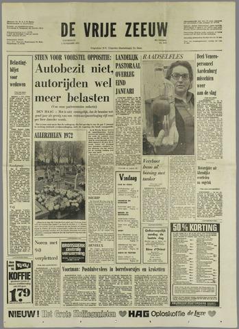 de Vrije Zeeuw 1972-11-02
