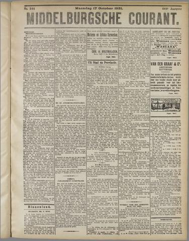 Middelburgsche Courant 1921-10-17