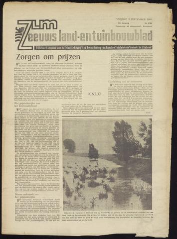 Zeeuwsch landbouwblad ... ZLM land- en tuinbouwblad 1965-09-03