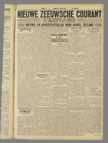 Nieuwe Zeeuwsche Courant 1929-04-23