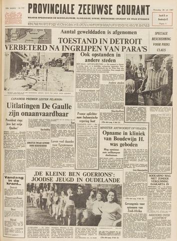 Provinciale Zeeuwse Courant 1967-07-26
