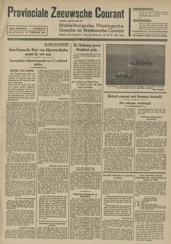 Provinciale Zeeuwse Courant 1941-02-10