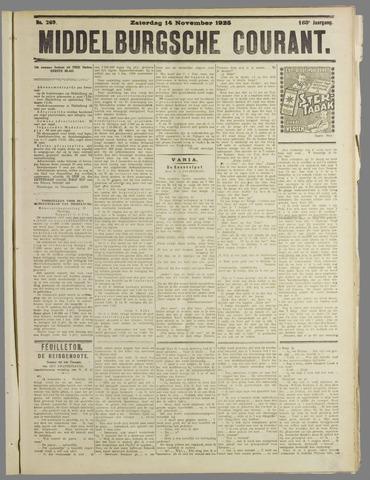 Middelburgsche Courant 1925-11-14