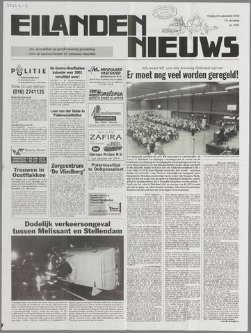 Eilanden-nieuws. Christelijk streekblad op gereformeerde grondslag 2000-09-29
