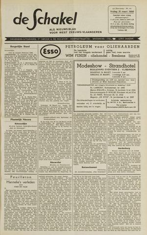 De Schakel 1958-03-21