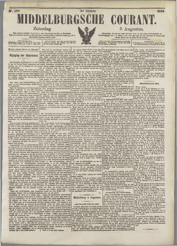 Middelburgsche Courant 1899-08-05