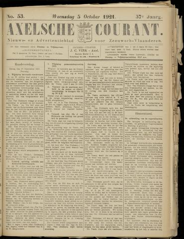 Axelsche Courant 1921-10-05