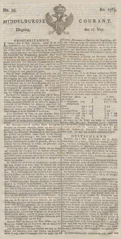 Middelburgsche Courant 1763-05-17