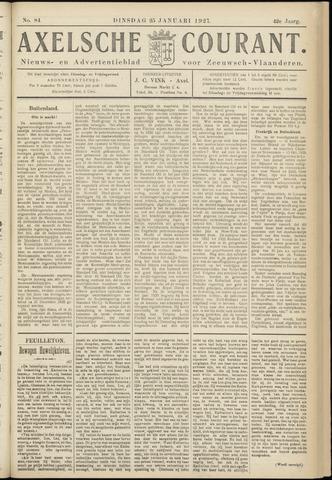 Axelsche Courant 1927-01-25