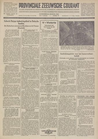 Provinciale Zeeuwse Courant 1941-08-28