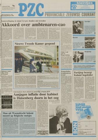 Provinciale Zeeuwse Courant 1992-04-29