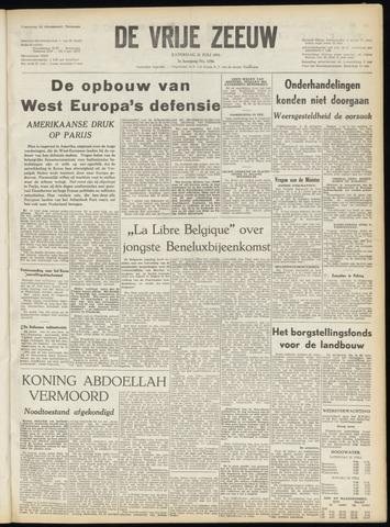 de Vrije Zeeuw 1951-07-21