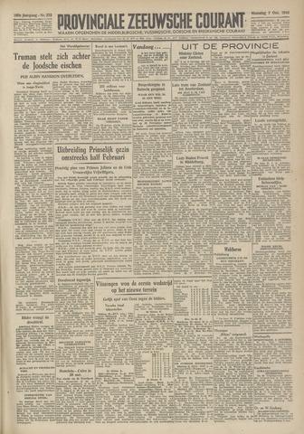 Provinciale Zeeuwse Courant 1946-10-07