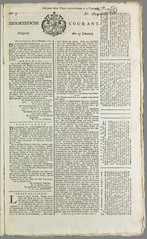 Zierikzeesche Courant 1814-01-25