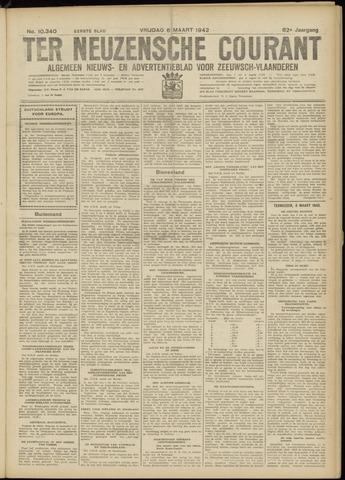 Ter Neuzensche Courant. Algemeen Nieuws- en Advertentieblad voor Zeeuwsch-Vlaanderen / Neuzensche Courant ... (idem) / (Algemeen) nieuws en advertentieblad voor Zeeuwsch-Vlaanderen 1942-03-06