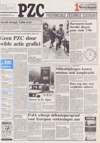 Provinciale Zeeuwse Courant 1989-02-27