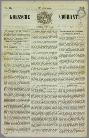 Goessche Courant 1856-07-03