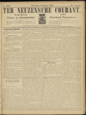 Ter Neuzensche Courant. Algemeen Nieuws- en Advertentieblad voor Zeeuwsch-Vlaanderen / Neuzensche Courant ... (idem) / (Algemeen) nieuws en advertentieblad voor Zeeuwsch-Vlaanderen 1895-08-08