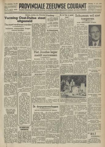 Provinciale Zeeuwse Courant 1948-07-13