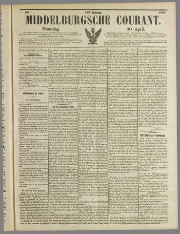 Middelburgsche Courant 1906-04-30