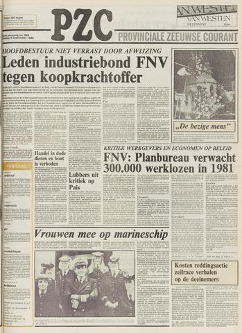 Provinciale Zeeuwse Courant 1980-09-05
