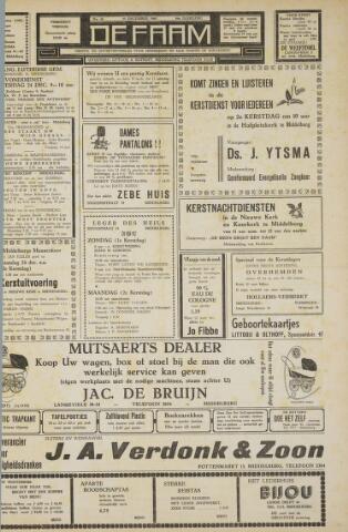 de Faam en de Faam/de Vlissinger 1960-12-23