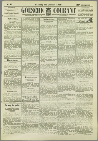 Goessche Courant 1932-01-25