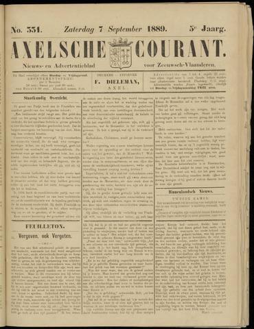 Axelsche Courant 1889-09-07